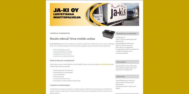 Ja-Ki Muutto Oy